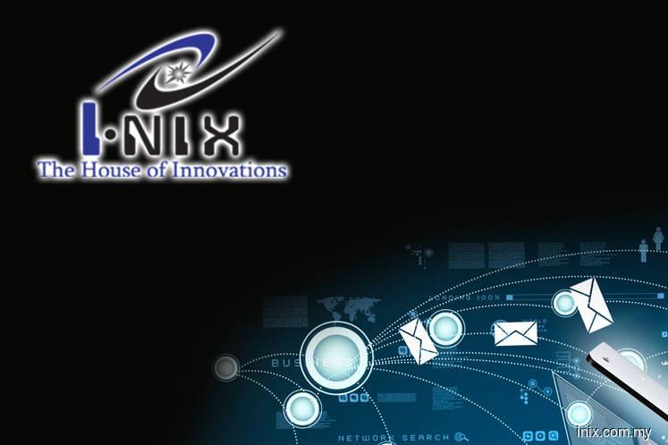 3.09% of Inix Tech crossed off market