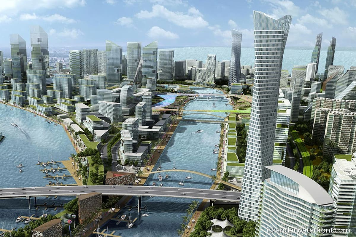 Iskandar Waterfront partners Metallurgical Corp of China to develop land in Johor