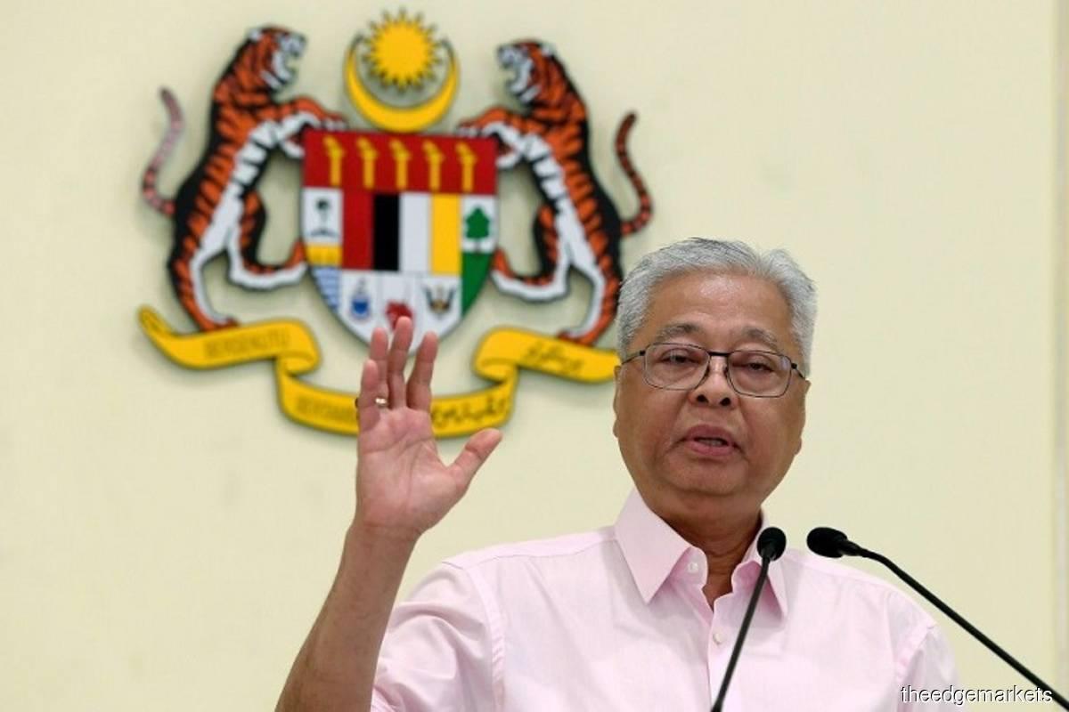 Prime Minister Datuk Seri Ismail Sabri Yaakob (The Edge filepix)