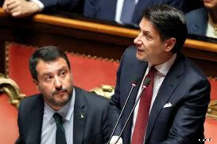 Conte resigns as Italian premier and points a finger at Salvini