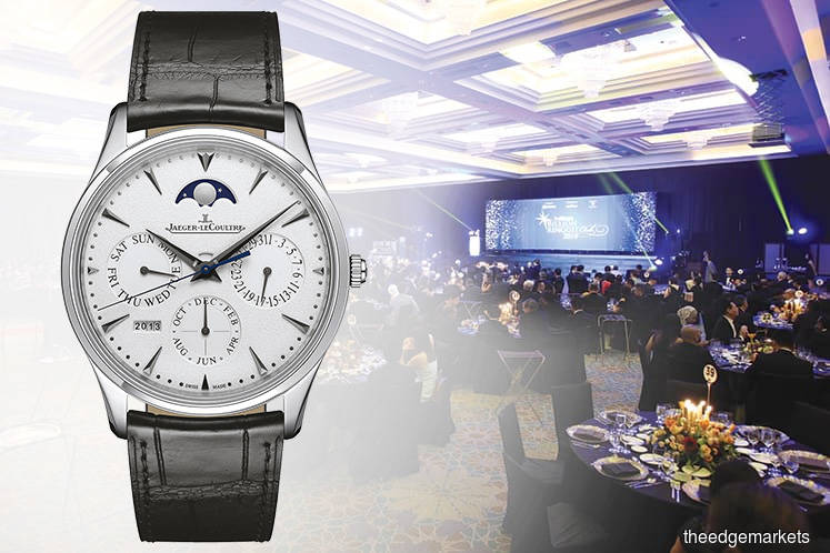 Prodigious slimness of Jaeger-LeCoultre's Master Ultra Thin Perpetual