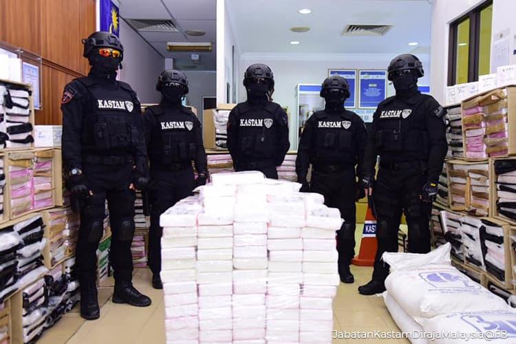 Drugs worth US$161 million seized in Malaysia's biggest haul