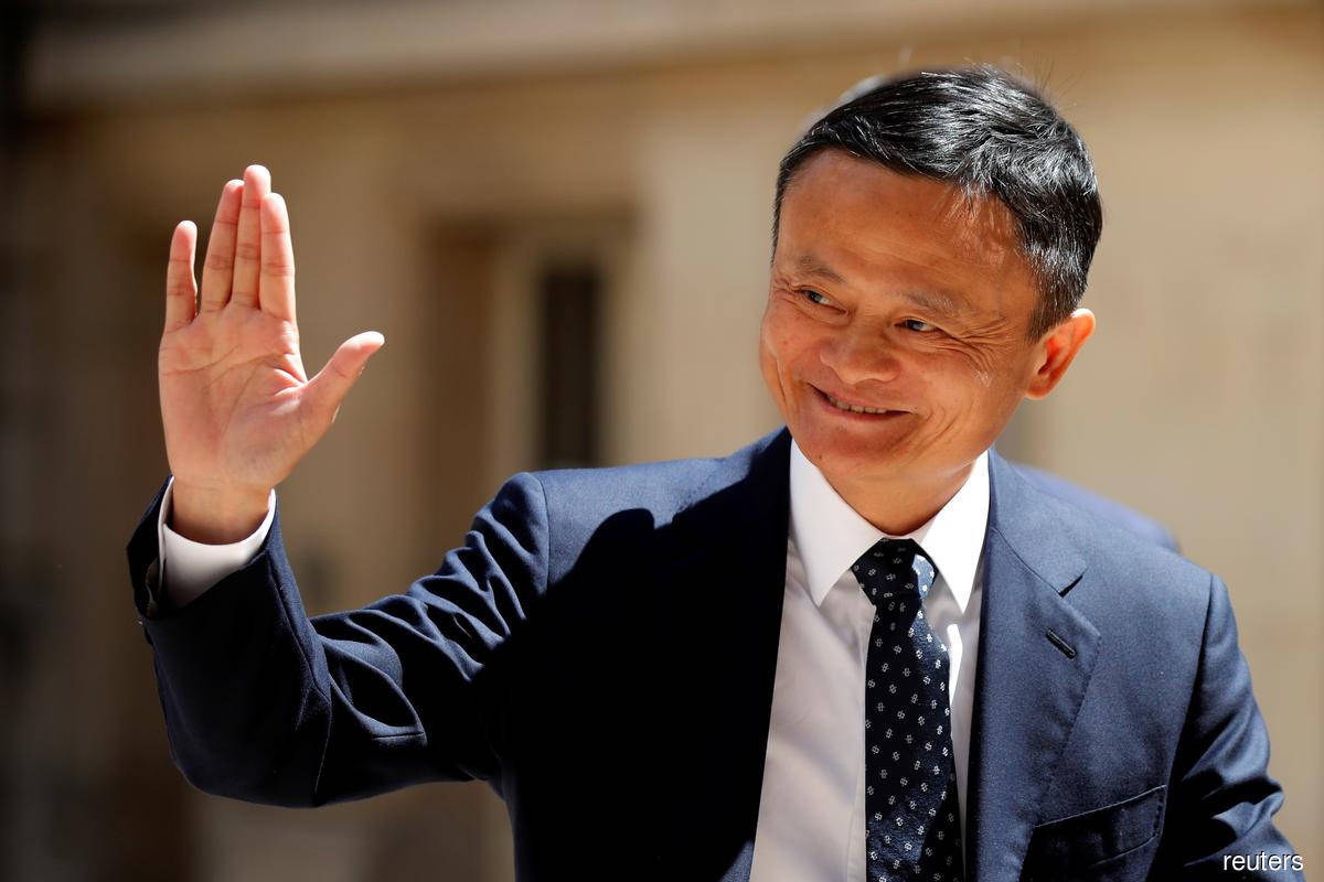 Jack Ma dethroned as China's richest as 'Lone Wolf' moves up