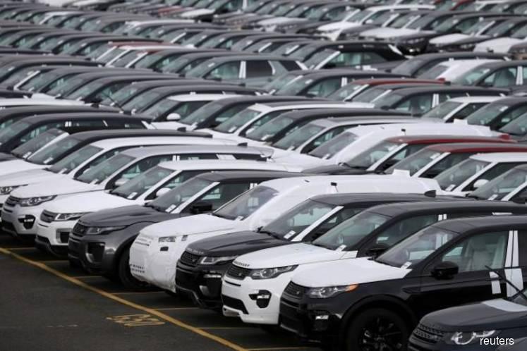 Slump in demand pulls down UK car production, again