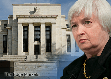 Fed's Yellen resumes schedule after struggling to finish speech