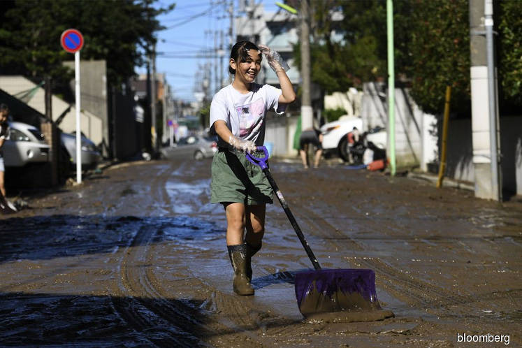 Japan Sends in 110,000 Rescuers as Typhoon Death Toll at 40