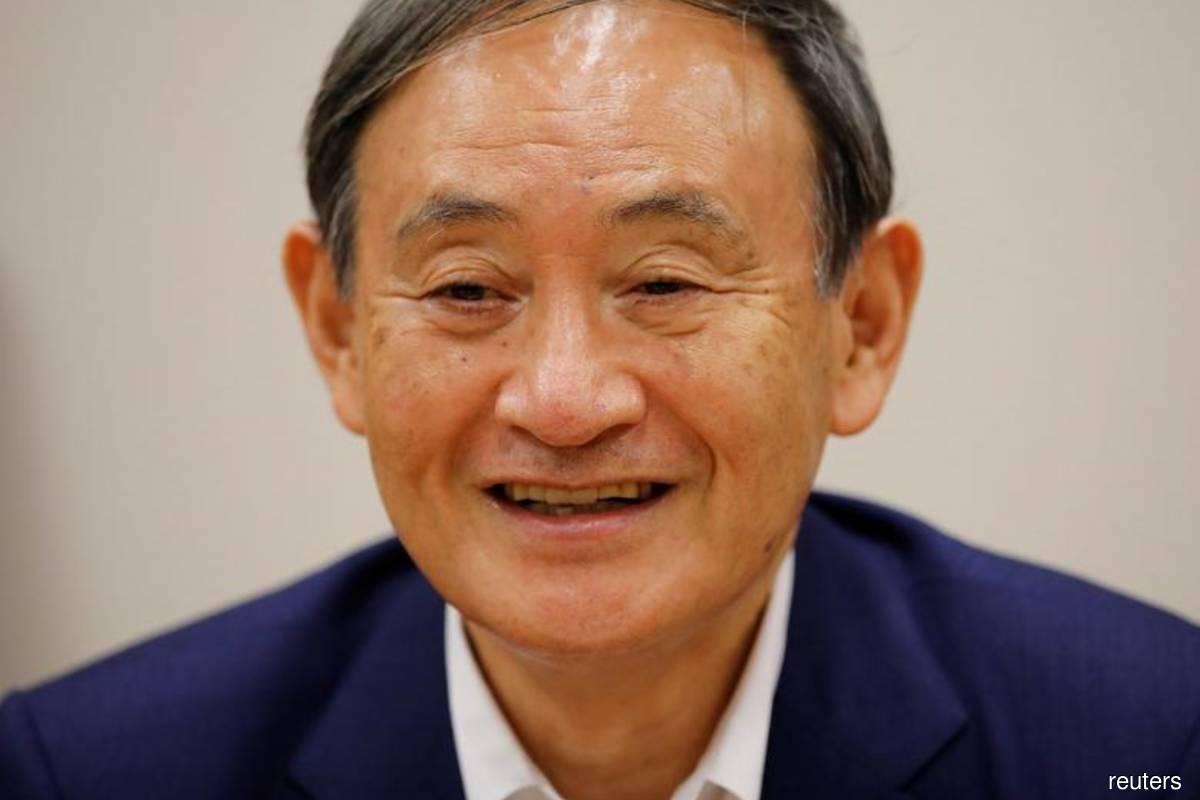 Japanese Prime Minister Yoshihide Suga (Reuters filepix by Issei Kato)