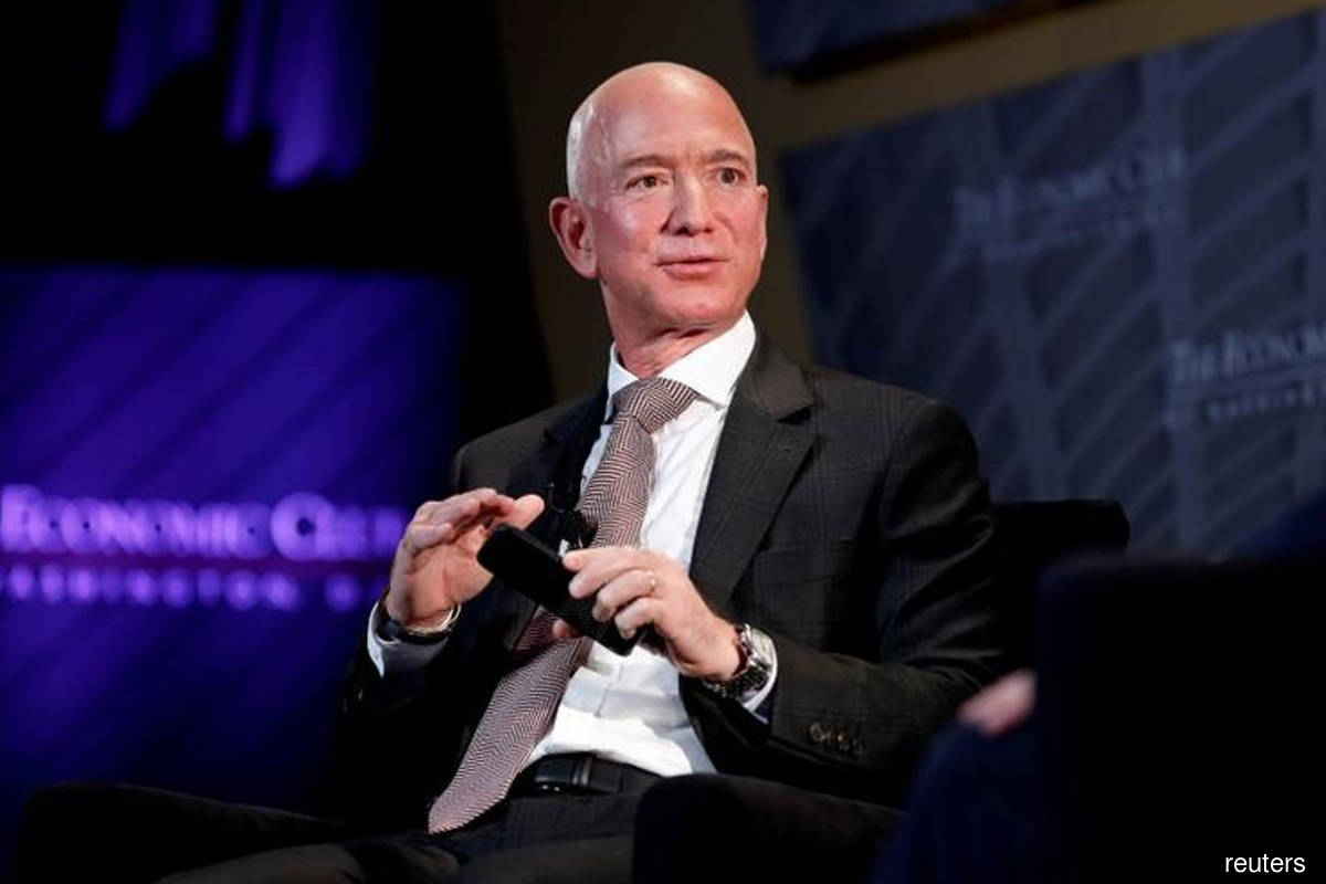 Bezos gives away US$172m in Amazon stock after donations