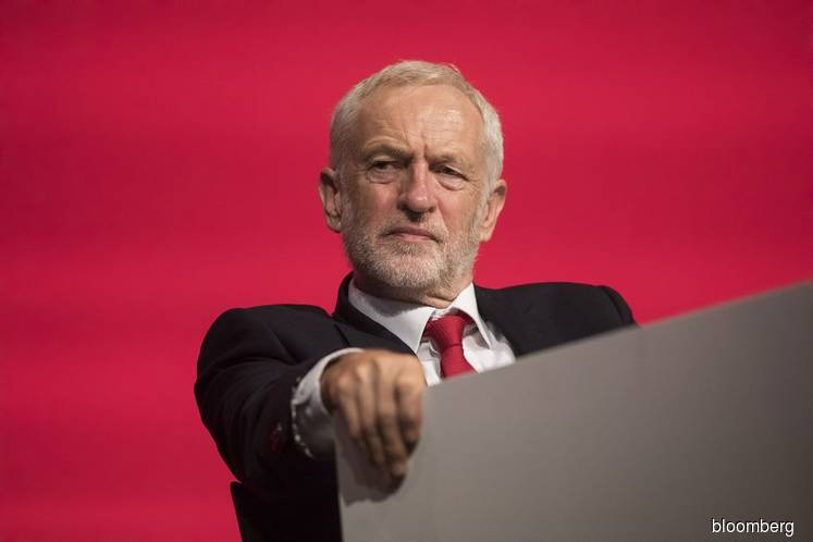 Corbyn signals 'early' confidence vote to block no-deal Brexit