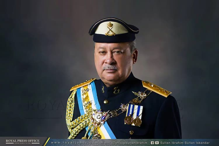 Johor Sultan willing to surrender land to Govt for free, says he was unaware it was for RTS project