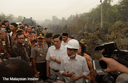Three years to end smog problem, says Indonesia's Jokowi