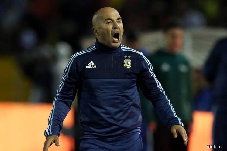 'Blame me, not team', says devastated Argentina coach