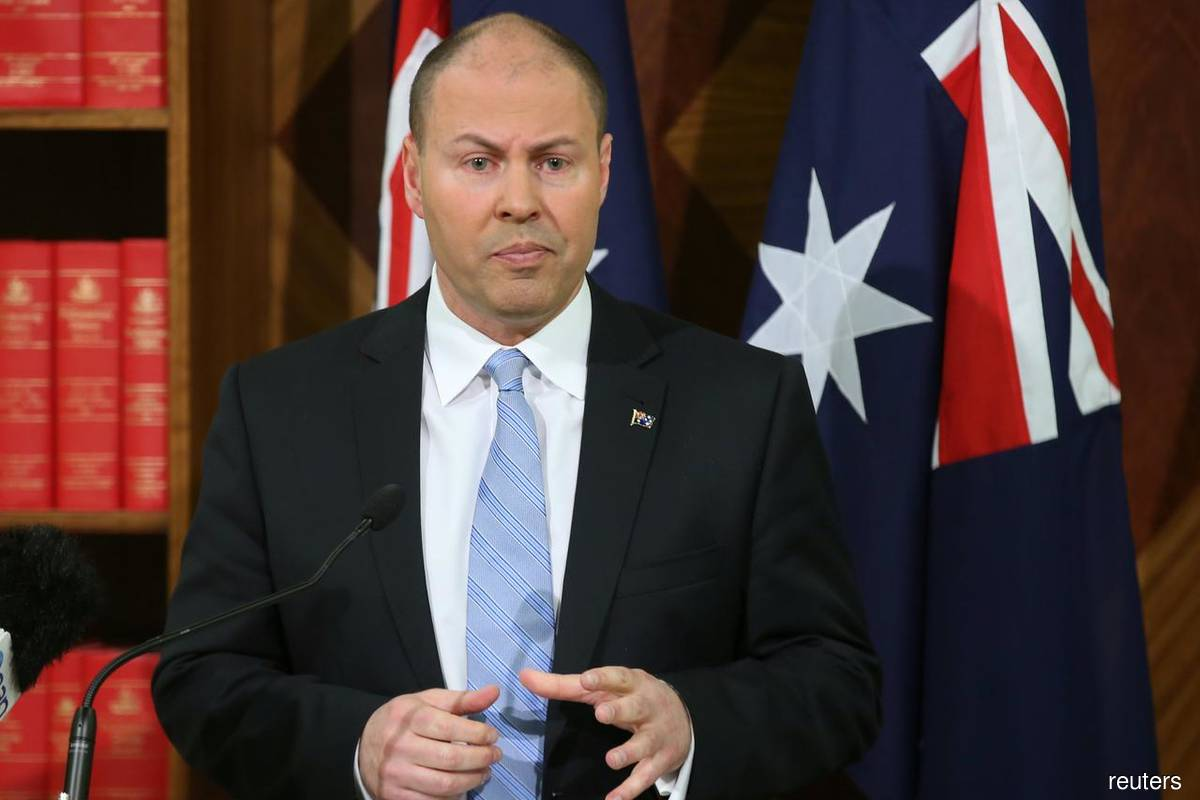 Australian Treasurer Josh Frydenberg (Photo by Reuters)
