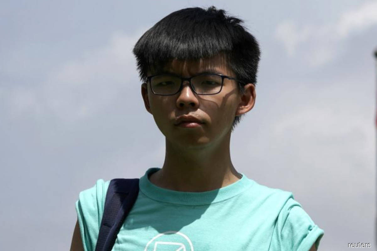 Hong Kong activist Joshua Wong jailed for four months for 2019 protest