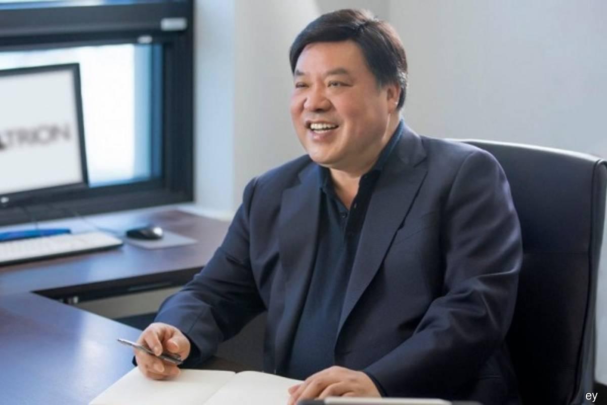Celltrion's JungJin Seo named EY World Entrepreneur Of The Year 2021