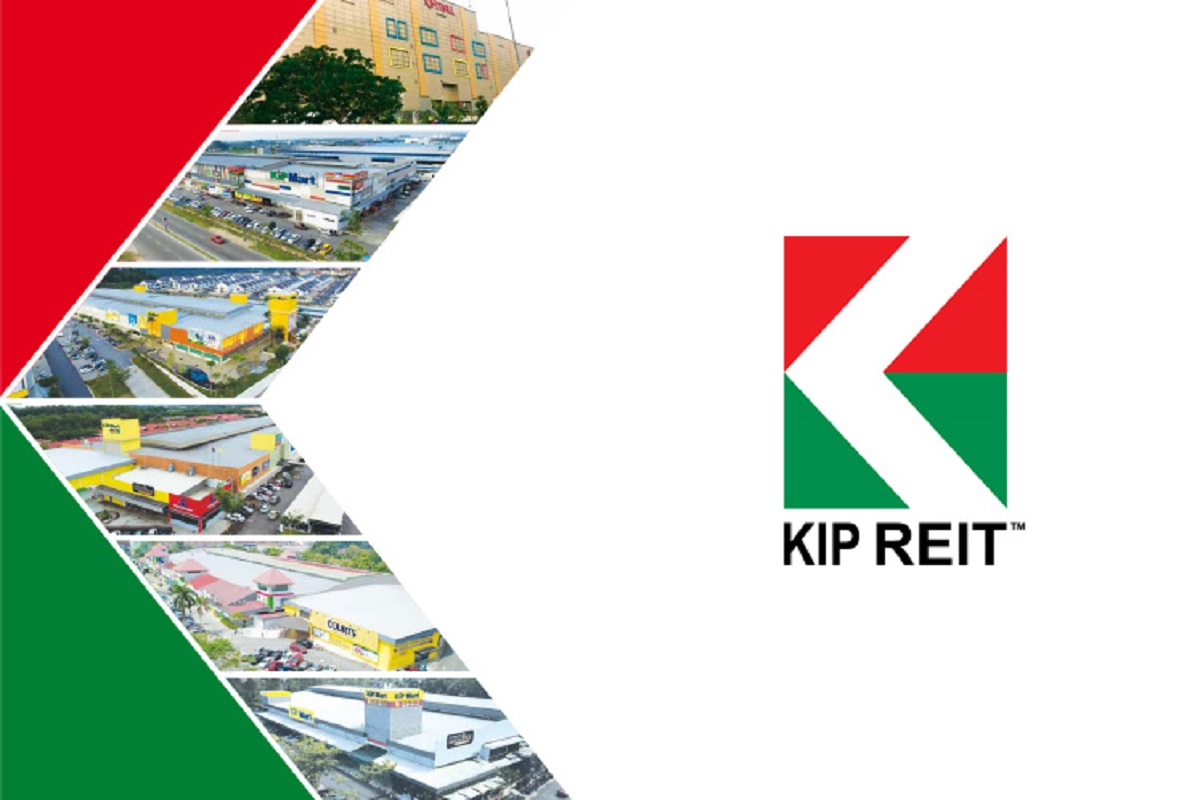 KIP REIT's 3Q net property income falls 5.9% to RM13.69m, declares 1.6 sen DPU