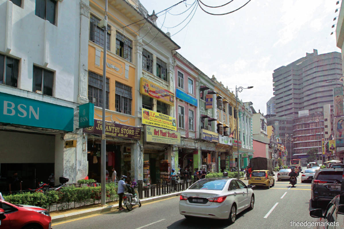 Properties located in the old quarters of KL city with adequate connection to public transport offer adaptive reuse prospects (Photo by Mohd Shahrin Yahya/The Edge)