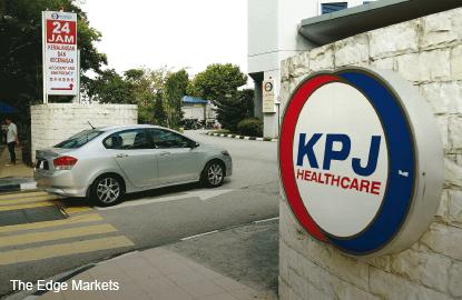 KPJ Healthcare's 3Q profit up 31%, pays 1.75 sen interim dividend