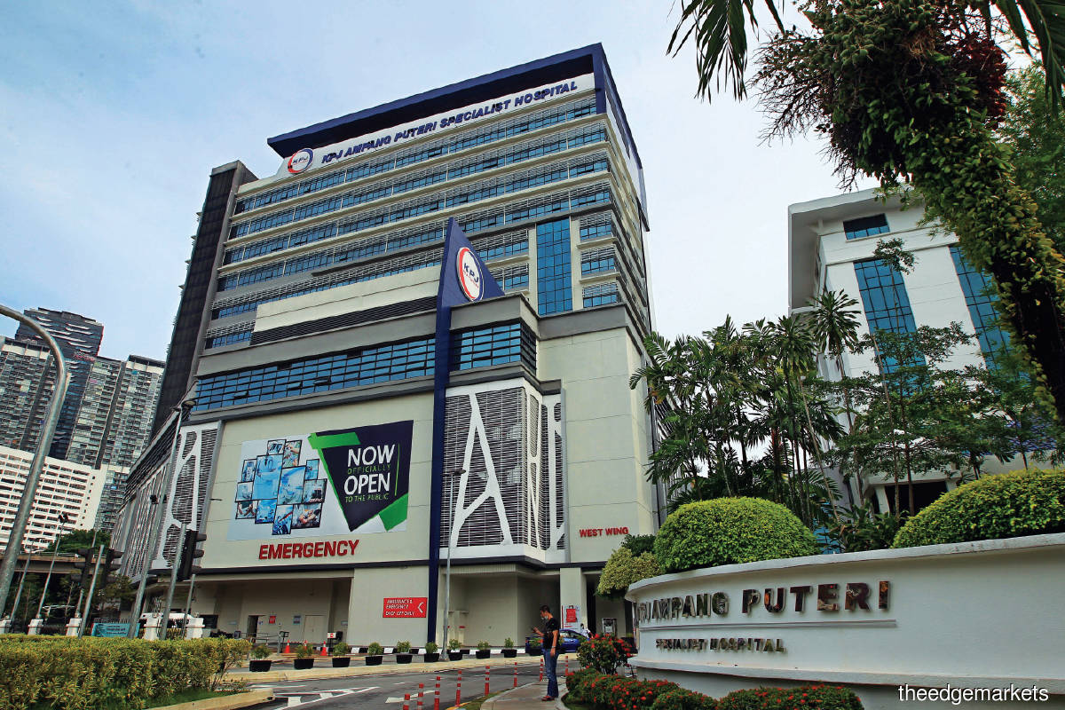 KPJ operates 28 hospitals in Malaysia and has a small presence in Indonesia and Bangladesh (Photo by Shahrin Yahya/The Edge)