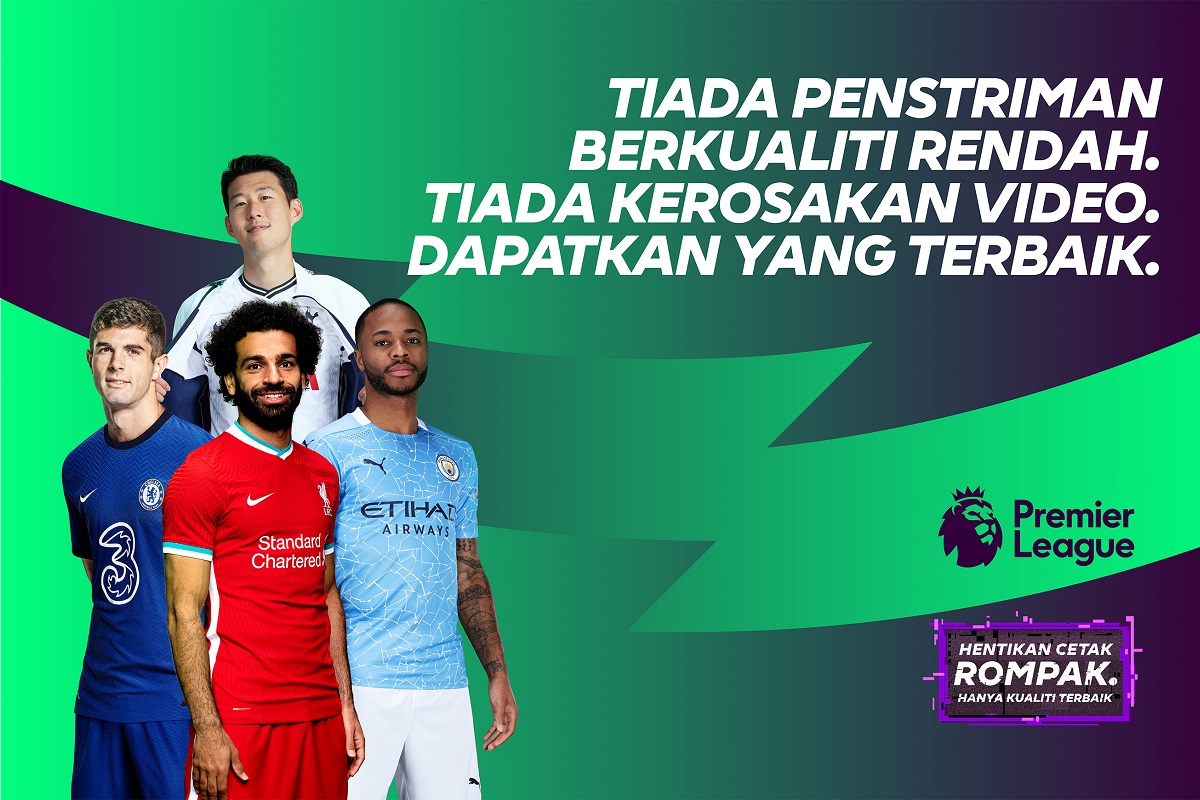 Premier League launches 'Boot Out Piracy' campaign in Malaysia