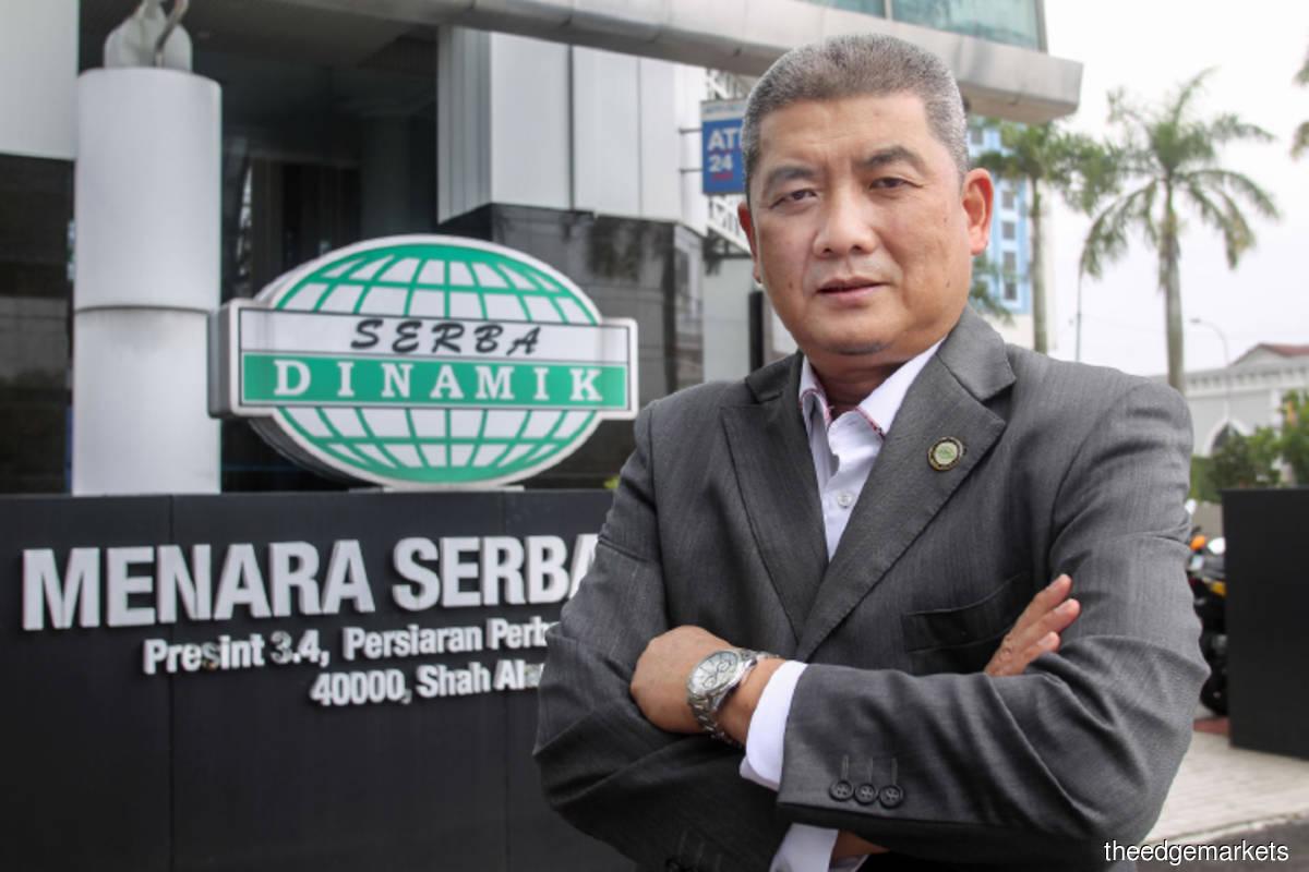 Serba Dinamik boss bought more shares as price tumbled