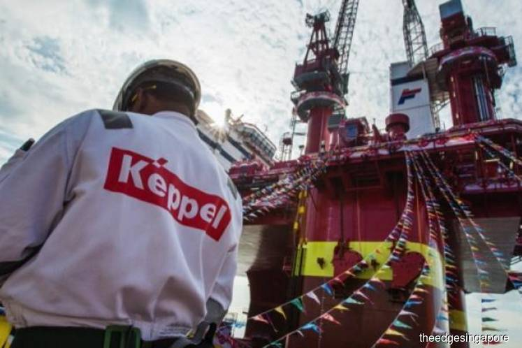 Keppel to sell 5 existing rigs to Borr Drilling for S$993 mil