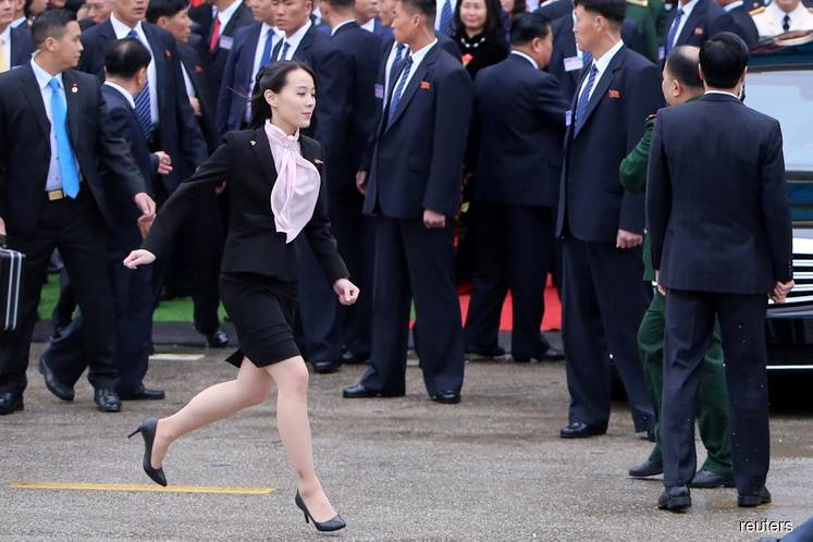 North Korea leader's younger sister reemerges after 52-day absence