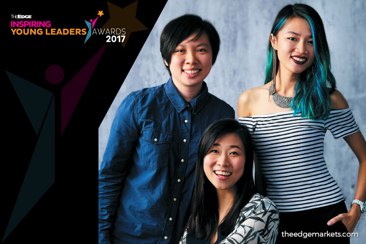 The Edge Inspiring Young Leaders Awards 2017: KIM LIM, LEE SWEE LIN + SUZANNE LING – Founders, The Picha Project