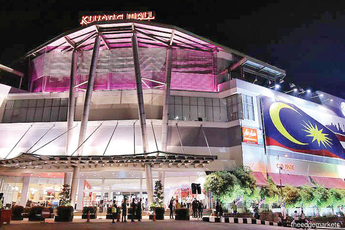 Kluang Mall has managed to attract new tenants despite  the challenging period