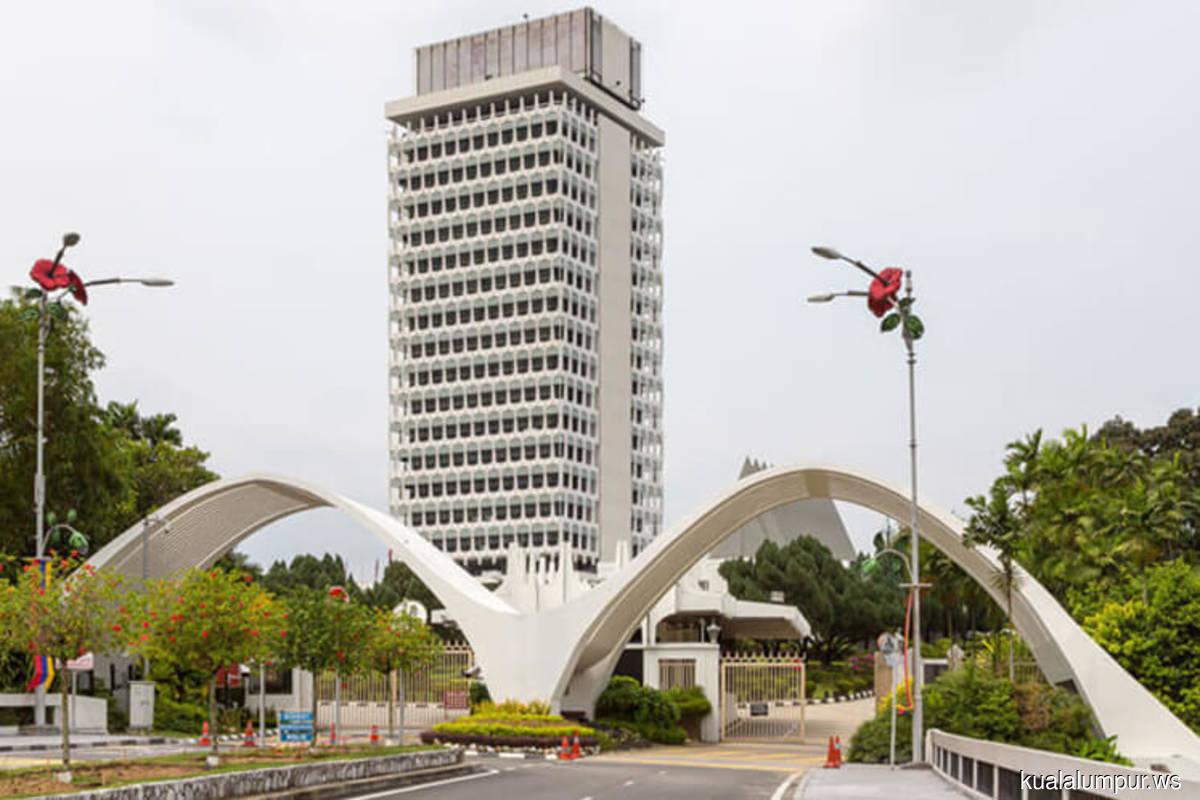 Three bills for tabling in Dewan Rakyat on Monday