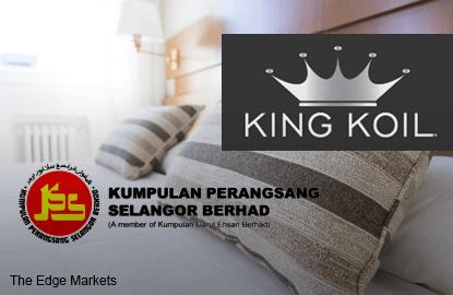 Kumpulan Perangsang收购King Koil床褥执照持有者60%股权