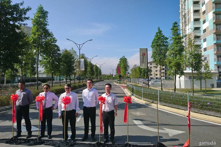 Gamuda Land unveils new access road, community hall for Kundang Estates
