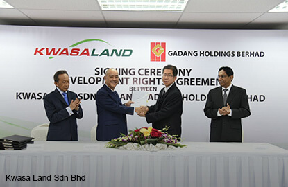 Gadang to build RM700m residential project within Kwasa Damansara