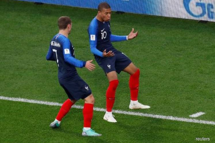 Mbappe puts France ahead to become youngest scorer for Les Bleus