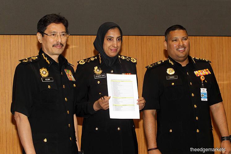 1MDB fund recipients