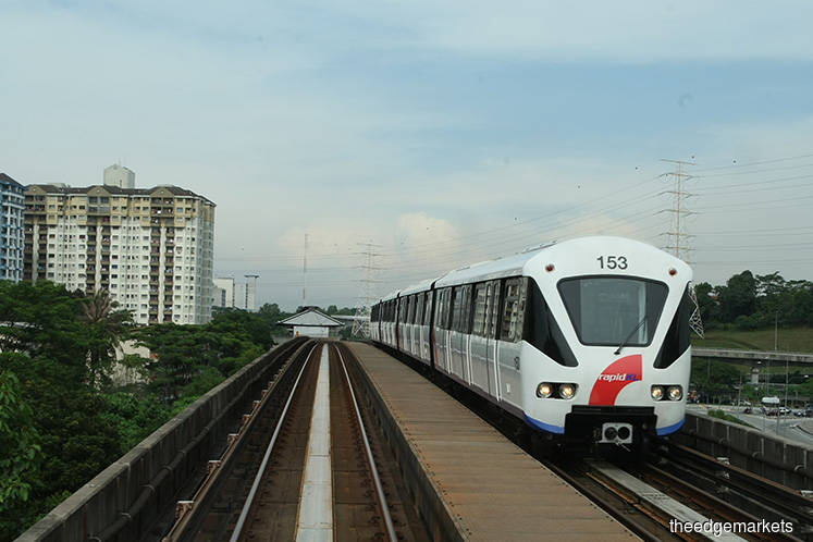 MRCB-George Kent aims to complete over 40% of LRT3 by end-2020