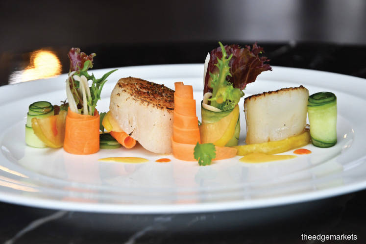 Wines: An elegant French wine dinner at LTITUDE