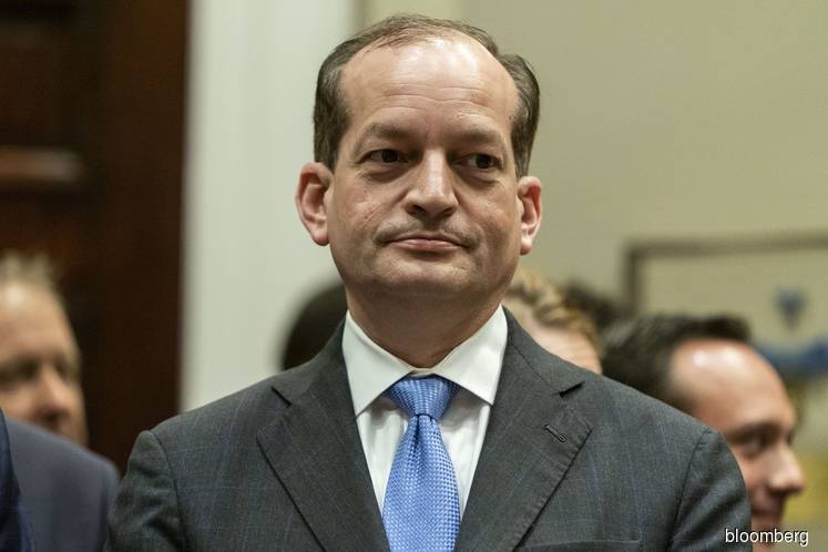 Labor chief Acosta quits after furor over Epstein sex inquiry