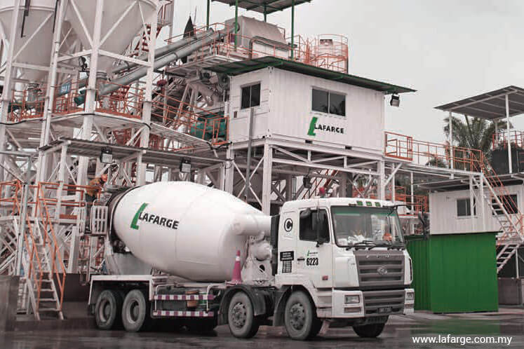 Lafarge Malaysia cut to underweight at AmInvestment Bank