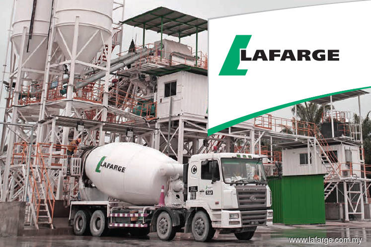 Lafarge drops 4.62% after reporting quarterly loss