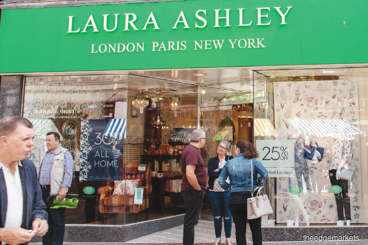 A view of a Laura Ashley outlet at Port Street in Stirling, Scotland. Should the talks fail, Laura Ashley says it will be 'considering all options'.