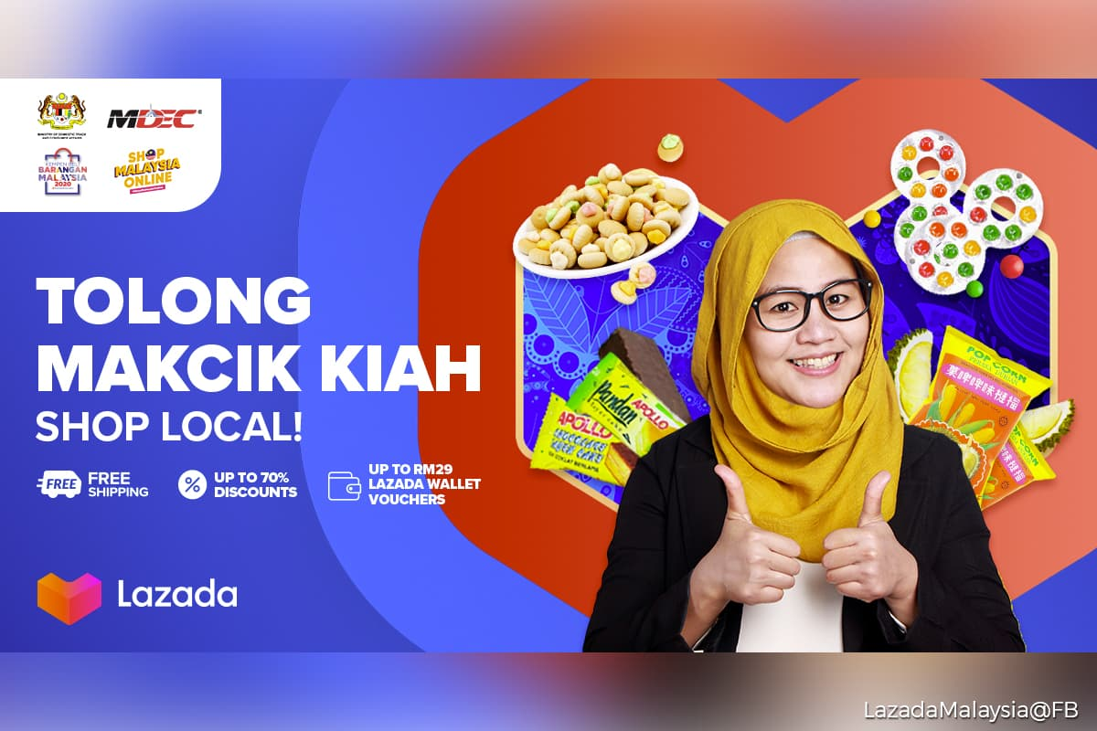 Lazada Features Two New Online Campaigns To Support Local
