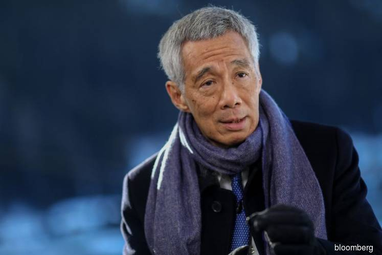 Singapore's Leader Says Economic Rebound Depends on Global Calm