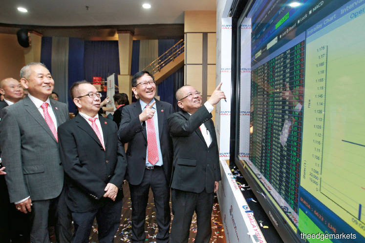 Leong Hup finishes flat in comeback amid poor market sentiment