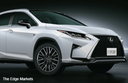 The all-new 4th generation Lexus RX
