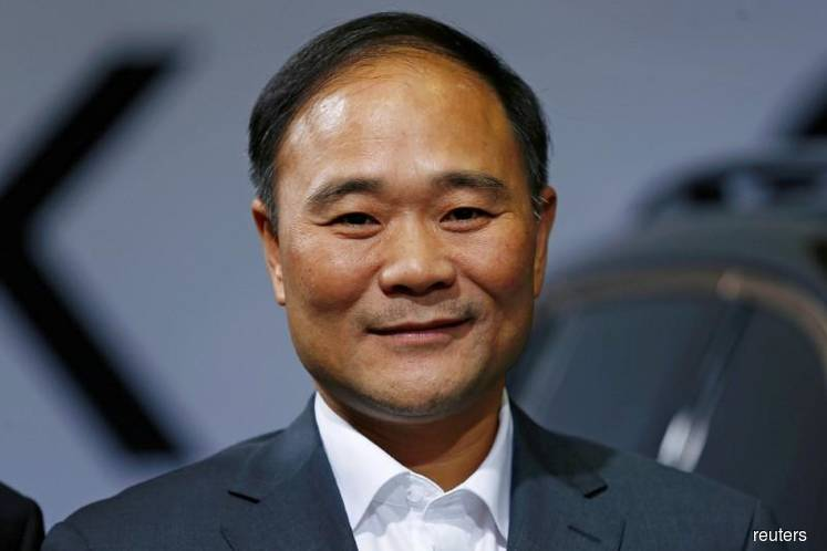Geely's founder is thankful to Malaysian Government