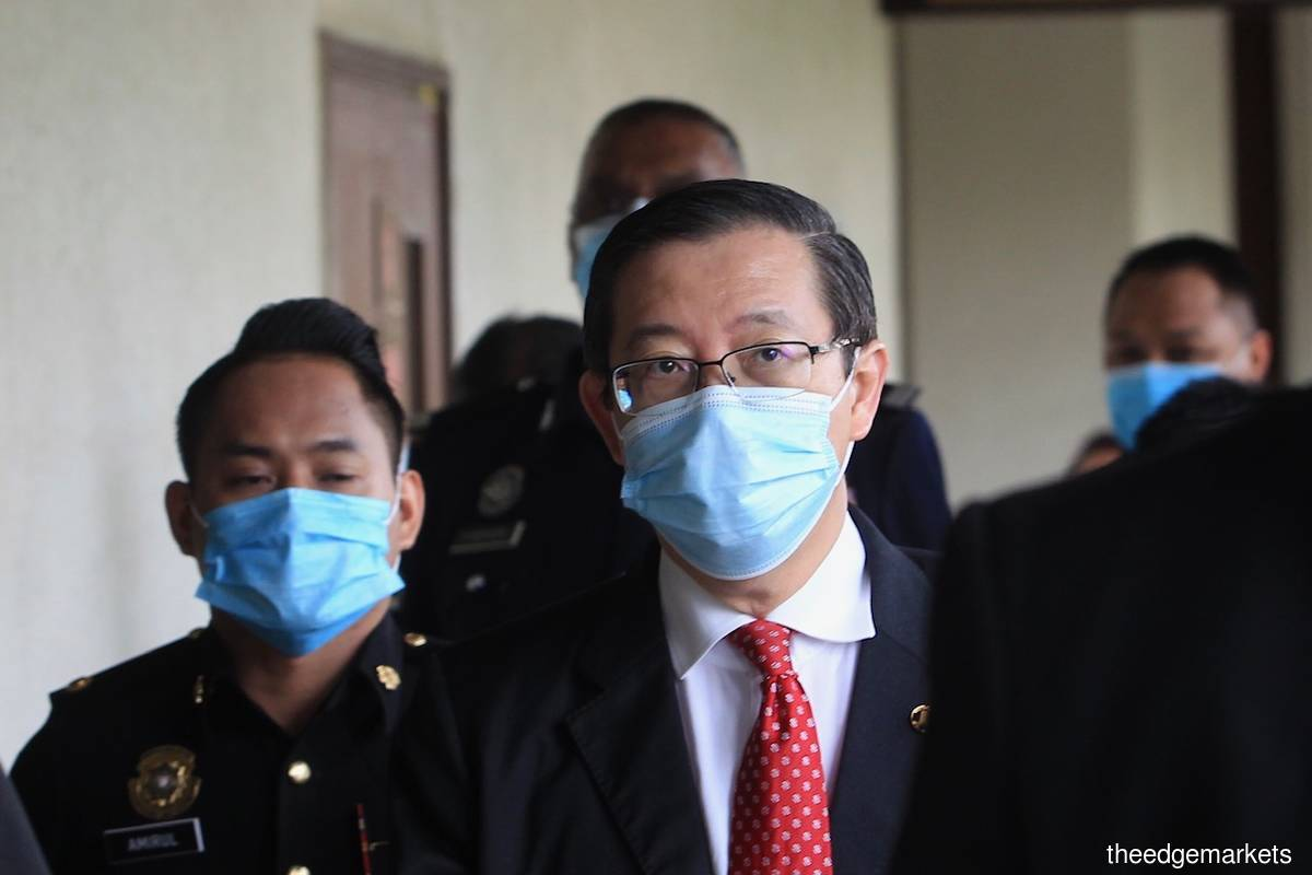 Lim Guan Eng pleads not guilty to Penang Undersea Tunnel graft charge, bail set at RM1m