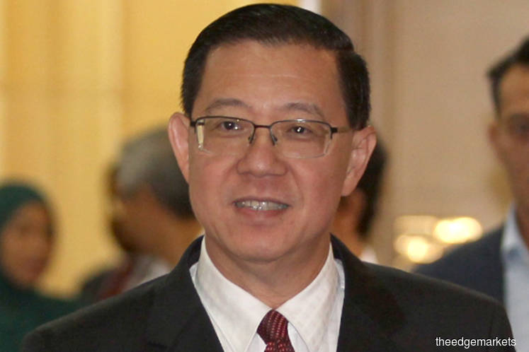 No corporate tax reduction for 'now and the next few years', Guan Eng says