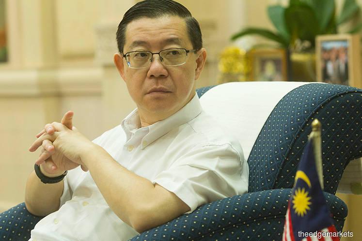 Guan Eng: Gag order on ECRL until G2G talks end