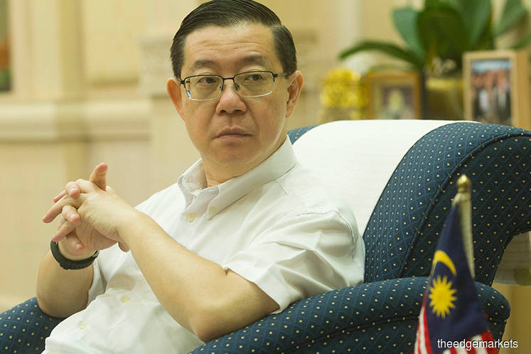 Guan Eng leads 10-member office to oversee govt's debt and liabilities